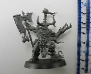 EXALTED DEATHBRINGER Plastic Blades of Khorne Bloodbound Chaos Warriors Army 40