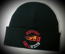 Hells Angels, Support 81, Red & White Bonnet