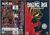 DVD MANGA GO NAGAI ANIME FIGHT HARD PULP ANNI 90,VIOLENCE JACK VERSION INTEGRALE