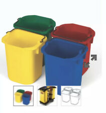RUBBERMAID FG9T83010000 Disinfectant Pail Set,1-1/4 gal.,PK4
