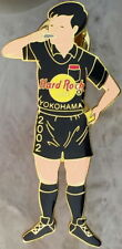 Hard Rock Cafe YOKOHAMA 2002 FIFA World Cup Soccer Referee w/ Whistle PIN #12760