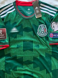 Mexico 2021 Home Soccer Jersey Green / Verde **Large**