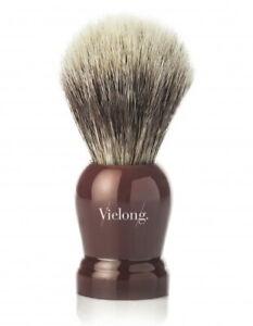 Shaving Brush SIZE S Horsehair IN Dachshaar-Optik Horse Hair 21mm Vie-Long Spain