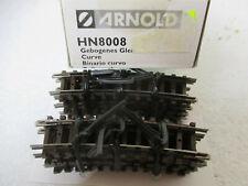 Arnold HN 8008 gebogenes Gleis R2 15º Spur N