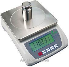 0.2 Grain 3000G x 0.01G 10 Mg Digital Scale Balance Gun Powder Black Reload Lw