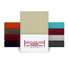 TOPPER Spannbettlaken Jersey aus 100% Baumwolle Spannbetttuch 90/140/180 × 200