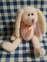 Ty Beanie Babies Strawbunny jointed limbs and errors, rare!!!