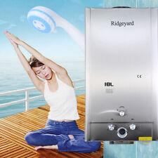 18L LPG Propane Gaz chauffe-eau sans réservoir eau chaudière + pommeau de douche