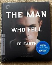 The Man Who Fell To Earth: Blu-ray Criterion: Bowie: NEW SEALED OOP Digipack