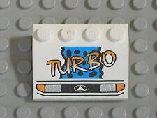 Lego chef bleu 4175 1x2 avec plaque pour 6980 6450 6930 6367