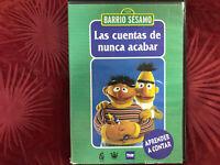 LAS CUENTAS DE NUNCA ACABAR DVD BARRIO SESAMO DISCO AZUL