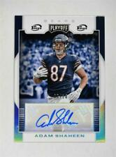 2017 Panini Playoff Rookie Signatures 1st Down Auto #RS-AS Adam Shaheen /10