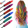 1/6PC Temporary Hair Chalk Hair Color Comb Dye Salon Kits Party Fans Cosplay Set
