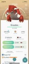 Pokemon Go - Groudon Trading Service