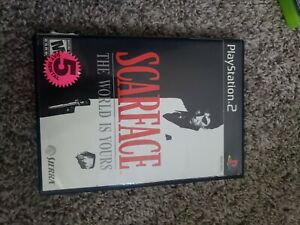 Scarface: The World is Yours (Sony PlayStation 2, 2006) PS2 CIB Game With Manual
