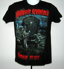 Mens Avenged Sevenfold Buried Alive t shirt small heavy metal band