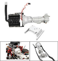KYX SCX10 II V8 Engine 2 Speed Gearbox w/ LCG Skid Plate 36mm Motor Heatsink