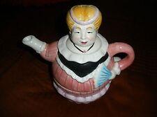 "Albert Kessler & Co Tea For One Set-""Lady""-Chubby Blonde Victorian Lady-Mint/HTF"