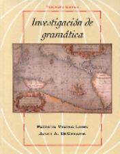 Investigacion de gramática Lunn, Patricia V., DeCesaris, Janet Hardcover