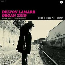 Delvon Lamarr Organ Trio Close but No Cigar LP Clear Vinyl Colemine Meters