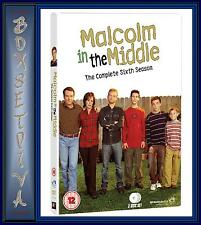 MALCOLM IN THE MIDDLE - COMPLETE SEASON 6   **BRAND NEW DVD **