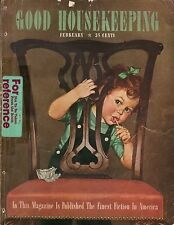 1944 Good Housekeeping February - Mickey mouse is a fad; Shingles; Grudges;Songs