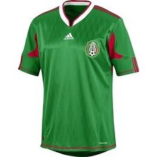 Team Mexico 2010 World Cup Soccer Home Jersey SS M New