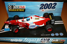 Slot SCX Scalextric 6105 F-1 Edition 2002 Club Scalextric - New