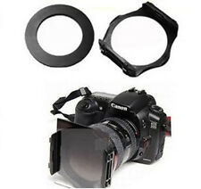 52mm ring Adapter + Color Colour square Filter Holder for Cokin P series