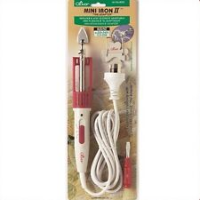 Clover Mini Iron - The Adaptor, Patchwork, Quilting, Sewing, Floral