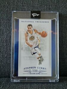 Stephen Curry National Treasures 2015 #/25