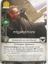 A Game of Thrones 2.0 LCG - 1x #133 Kämmerer an der Mauer - Base Set - Second Ed