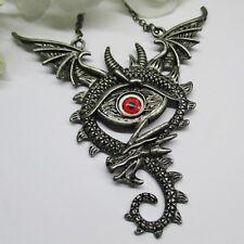 Steampunk Kette Collier Retro Choker Vintage Drache Halskette