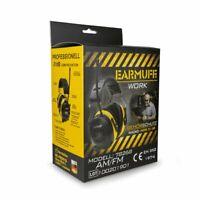 EARMUFF 78268 mit CE, SNR 31dB RADIO Gehörschutz Kopfhörer FM/AM/AUX