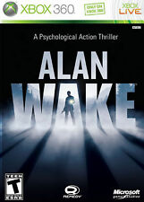 Alan Wake (Microsoft Xbox 360, 2010) Brand New Factory Sealed