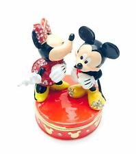 Disney Traditions Mickey and Minnie Trinket Figurine Boxed New DI352