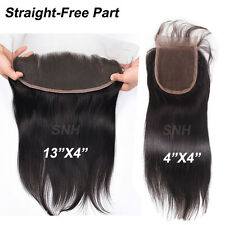 Ear To Ear Frontal 13*4/4*4 Lace Closure Brazilian 7A Virgin Human Hair US U866