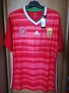 Adidas HUNGARY Magyarorszag Soccer Jersey NEW XL