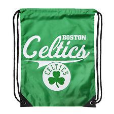 """NEW Boston Celtics Basketball Team Licensed Team Spirit Backsack 17.5"""" x 13"""""""