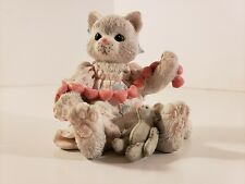 Calico Kittens A Good Friend Warms The Heart 627984 Pulling A Heart String 1992