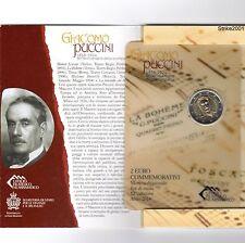 2 EURO COMMEMORATIVO SAN MARINO 2014 Puccini
