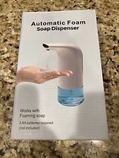 Automatic Soap Dispenser HandsFree Ir Sensor Touchless Foaming Dish Liquid AutoA