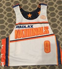 MADLAX Nationals Reversible Jersey Pinnie # 9 Lacrosse Mens Large Extra Large