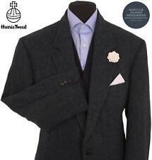 Harris Tweed Jacket Blazer Size 44R Herringbone Country Weave Hunting Hacking
