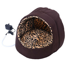 PawHut Electric Heated Pet Bed Dog Cat Puppy Kitty Heating Nesting Pads Mats