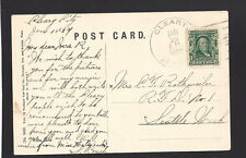 """CLEARY, ALASKA,1909 PICTURE POSTCARD. """"Miles Canyon"""". Territory, Type 1, SR/6"""
