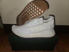 Size 8.5 - Adidas NMD R1 Primeknit-All White
