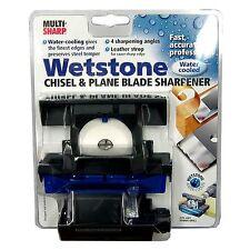 Haron MULTI-SHARP WETSTONE CHISEL & PLANE BLADE SHARPENER 4 Angles AUS Brand
