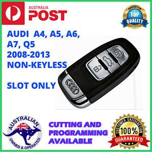 AUDI A4 A5 A6 Q5 A7 A8 slot key remote 2008 2009 2010 2011 2012 2013 2014 2015