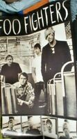 LARGE OLD S/H MUSIC POSTER APPROX 85 X 58 CM FOOFIGHTERS